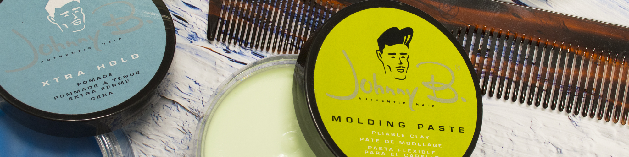 Johnny B Pomade